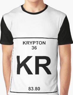 Krypton Periodic Table Graphic T-Shirt