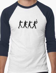 Zombies on Abbey Road Version 01 Men's Baseball ¾ T-Shirt