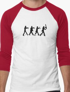Zombies on Abbey Road Version 01 Men's Baseball ¾ T-Shirt