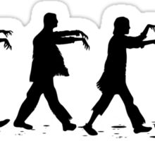 Zombies on Abbey Road Version 01 Sticker