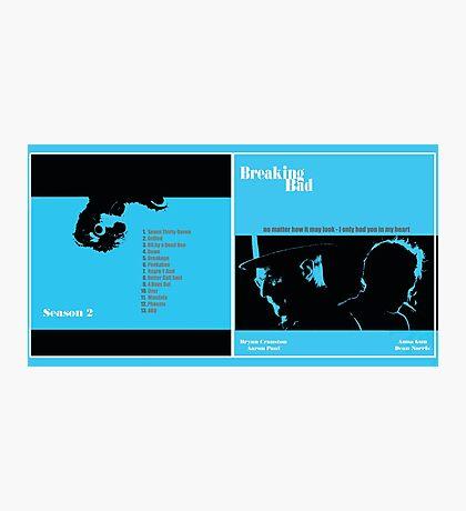 Breaking Bad Album Cover Photographic Print