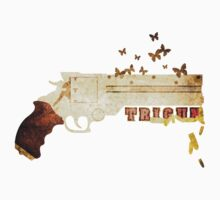 Trigun - Bullets & Butterflies Textured by Adam Angold