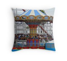 High Flying Ride.......... Throw Pillow