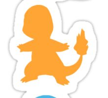 The starters (Kanto) Sticker