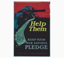 Help them keep your war savings pledge Baby Tee