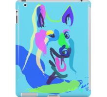 Dog- colour dog iPad Case/Skin