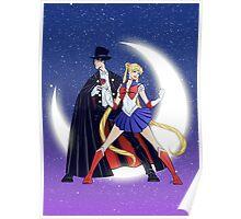 Sailor Moon/Tuxedo Mask Poster