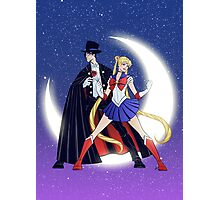 Sailor Moon/Tuxedo Mask Photographic Print