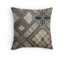 Crux Quadrata Throw Pillow