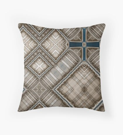 Crux Quadrata Throw Pillow