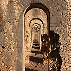 Temple of Jupiter Anxur, Terracina  by Yair Karelic