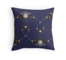 Apollonian Marble Lattice Throw Pillow
