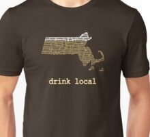 Drink Local - Massachusetts Beer Shirt Unisex T-Shirt