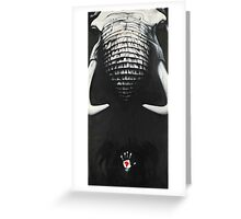 The Dark Continent Greeting Card