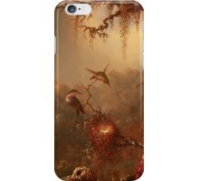 Hummingbirds in the Mist iPhone Case/Skin