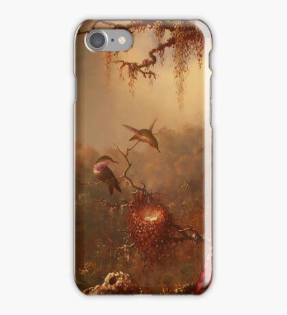 Hummingbirds in the Mist iPhone Case/Skin