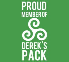 PROUD MEMBER OF DEREK'S PACK Kids Clothes