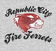 Fire Ferrets Street Shirt One Piece - Long Sleeve