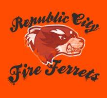 Fire Ferrets Street Shirt Kids Tee