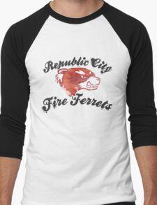 Fire Ferrets Street Shirt Men's Baseball ¾ T-Shirt