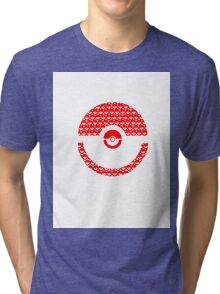 Pokeball Inception Tri-blend T-Shirt