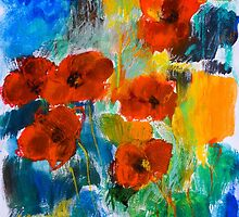 Wild Poppies by Elise Palmigiani