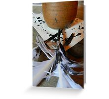 Quills and Ink Greeting Card