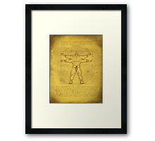 Designed to... FIGHT!!! Framed Print