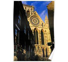 York Minster from Stonegate Poster