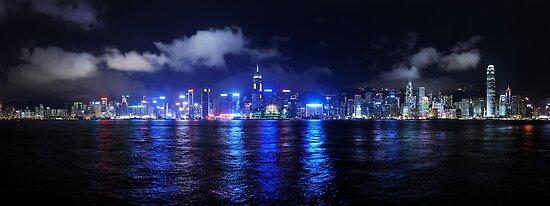Hong Kong from Kowloon by Simon Bowen