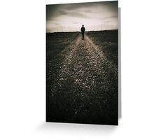 The desolate way Greeting Card