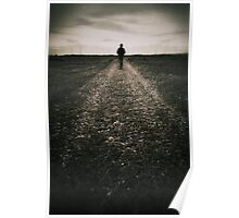 The desolate way Poster