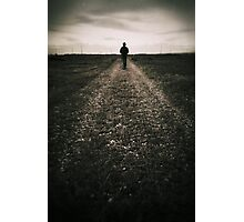 The desolate way Photographic Print