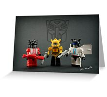 Little Bots Greeting Card