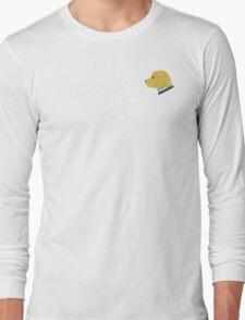 Preppy Dog Madras Golden Retriever Long Sleeve T-Shirt