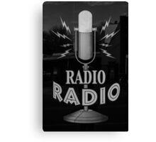 Radio Radio Canvas Print