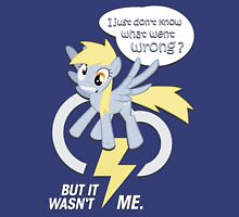 Derpy - went wrong ? Womens Fitted T-Shirt