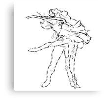 Ballet dancers Tchaikovsky : Swan Lake Canvas Print