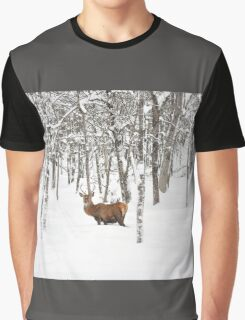 I'll be home for Christmas - Red Deer Graphic T-Shirt
