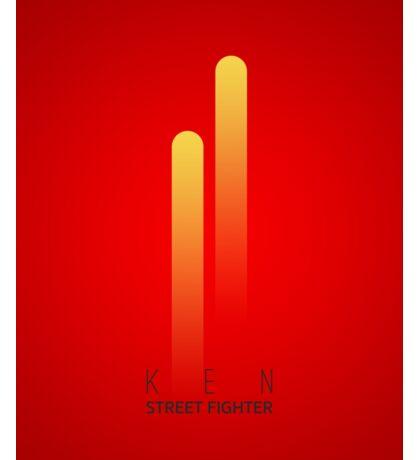 Street Fighter - Ken Sticker