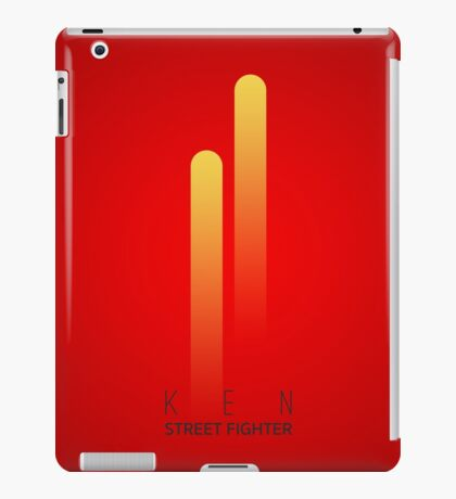 Street Fighter - Ken iPad Case/Skin