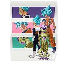 Dragonball Super Full Color Poster