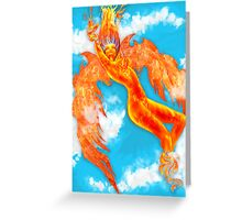 Sound_And_Fury Greeting Card