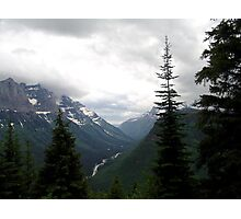 VIEW OF HEAVEN - GLACIER NATIONAL PARK Photographic Print