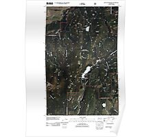 USGS Topo Map Washington State WA Mount Bonaparte 20110429 TM Poster