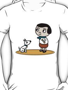 Girl and dog T-Shirt