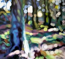 Woodland Tapestry by Lynsey Ewan