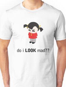 Angry Girl Unisex T-Shirt