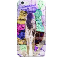 Looking through iphone case iPhone Case/Skin
