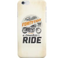 Forty Eight iPhone Case/Skin
